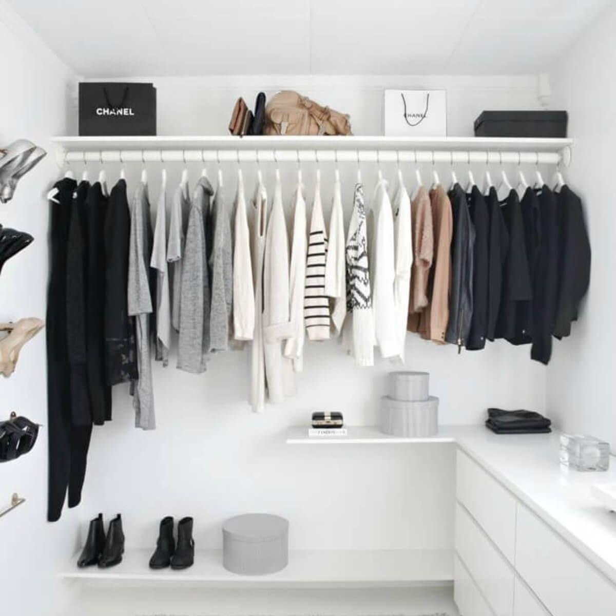 6 dicas para um guarda-roupa minimalista